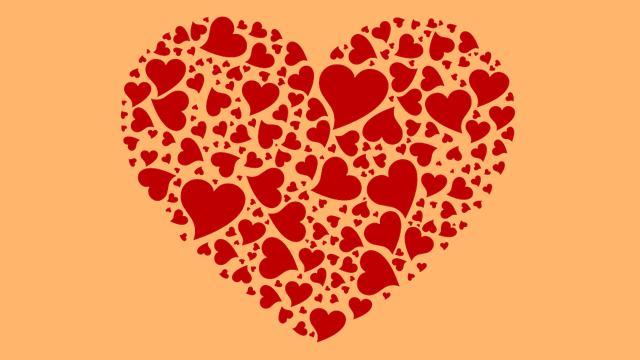 Sevgiliye Kalp Resmi