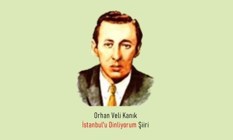 İstanbul'u Dinliyorum Şiiri