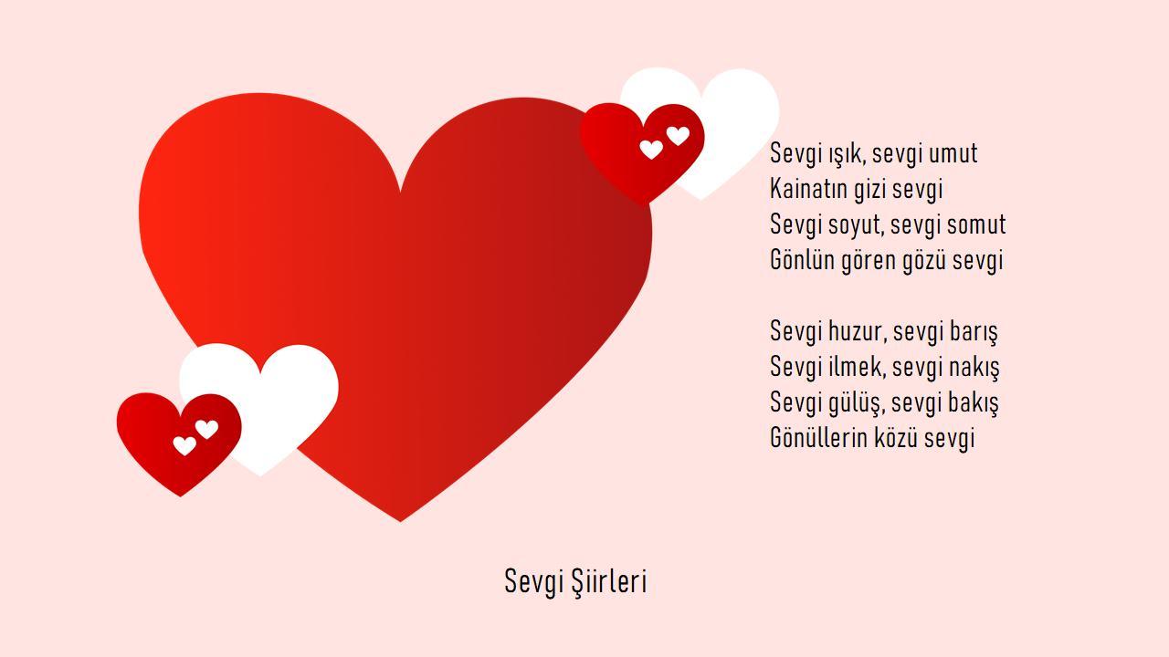 Sevgi Şiirleri