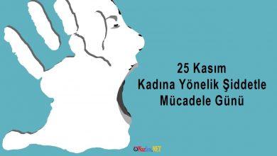 25 Kasım Kadına Yönelik Şiddetle Mücadele Günü Mesajları