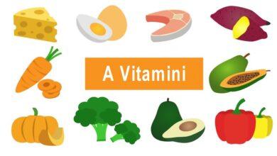 A Vitamini nelerde bulunur? Ne işe yarar?