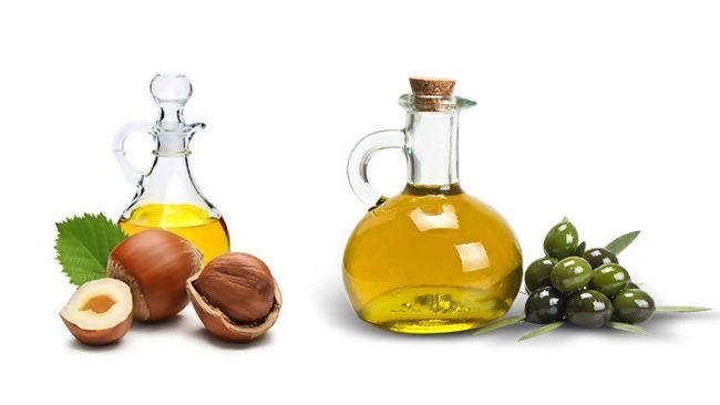 Zeytinyağı ve fındık yağı ile saç uzatma